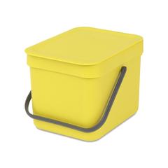 Встраиваемое мусорное ведро Sort & Go (6 л), Желтый