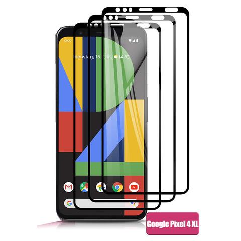Защитное стекло 2.5d для Google Pixel 4 XL (Black / Черное)