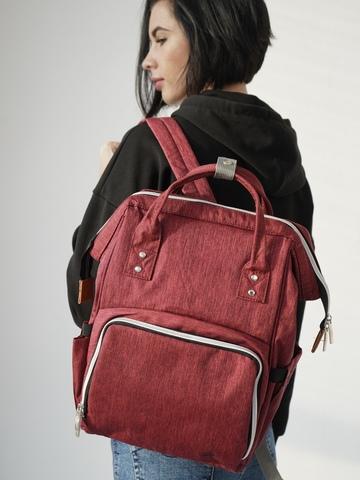 Рюкзак ChicMama Bags Бордовый