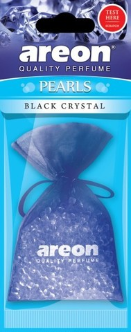 Ароматизатор Areon Pearls,Чёрный кристалл 704-ABP-01