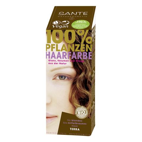 SANTE, Растительная краска для волос Терра (Темно-русый), 100гр