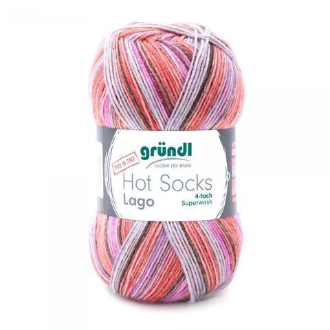 Gruendl Hot Socks Lago 08 купить www.knit-socks.ru