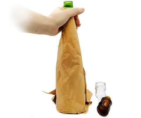 Фокус исчезновение бутылки