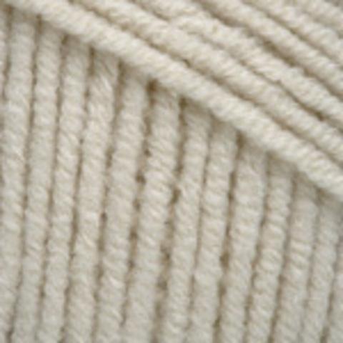 Пряжа YarnArt Jeans 05 молочный