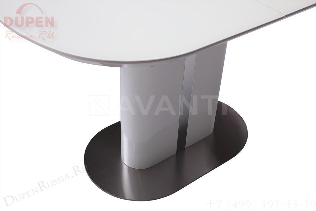 Стол обеденный AVANTI DISCOVERY (140) WHITE (белый)