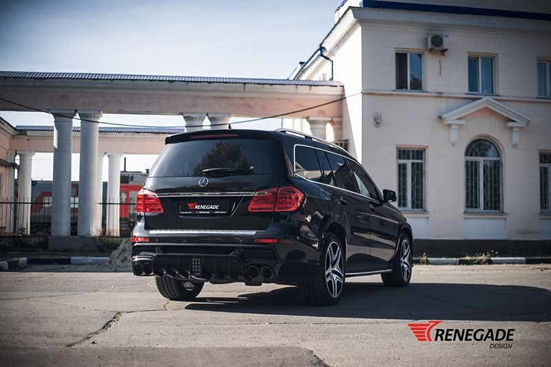 Обвес Renegade Design для Mercedes-Benz GL