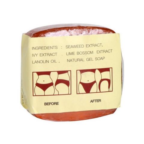 Тайское мыло антицеллюлитное от растяжек K.Brothers Herbal Firming Soap U.S.A. Beauty, 30 гр