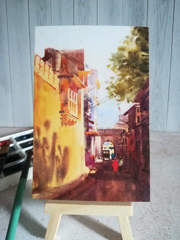 В тени улицы