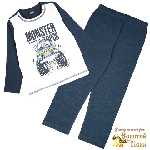 Пижама хлопок мальчику (3-7) 210627-OP1083.3