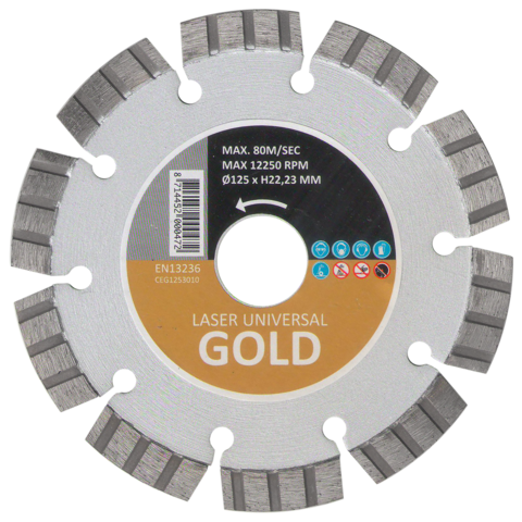 Алмазный диск HITACHI GOLD 125 мм