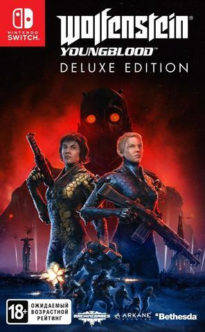 Wolfenstein: Youngblood. Deluxe Edition (Nintendo Switch, код загрузки, без картриджа, русские субтитры)
