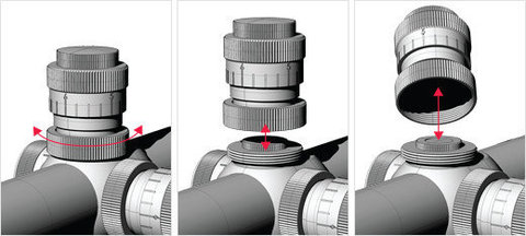 Оптический прицел Hawke Sidewinder ED 8-40x56 (20x TMX)