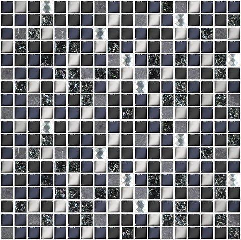 Мозаика Дефиле Неро 300х300