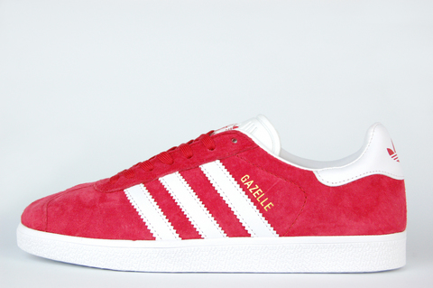 кроссовки Adidas Gazelle Red / White