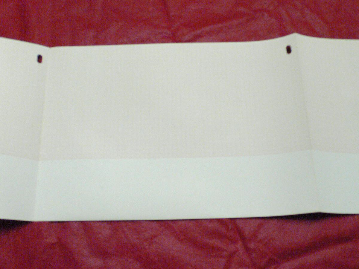 210х300х200, бумага ЭКГ Hewlett-Packard 1709A/1700/1701, реестр 4074