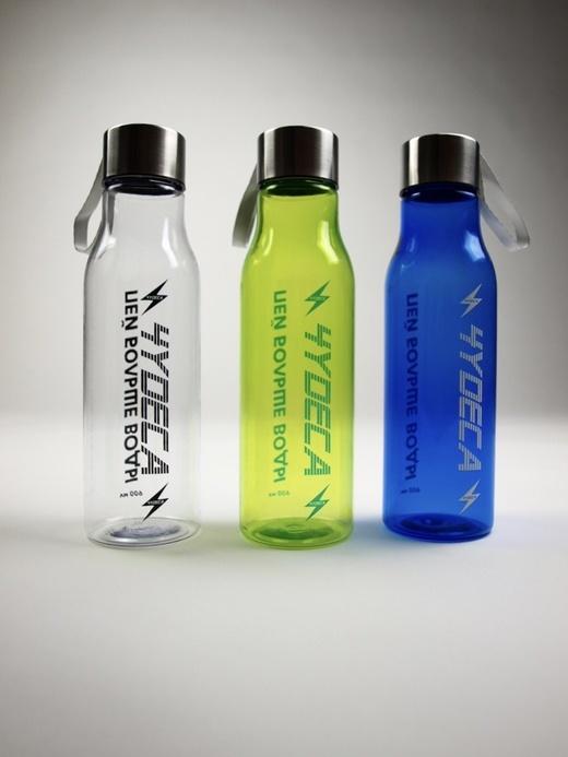 Бутылка для воды Чудеса - Прозрачный Синий