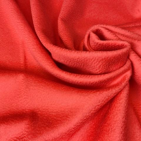 Ткань пальтовая Loro Piana цвет алый 3106