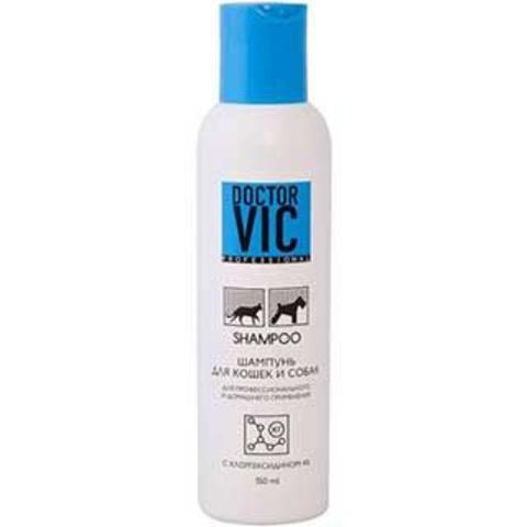 Шампунь Doctor VIC c хлоргексидином 4%, 150 мл