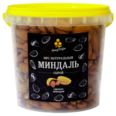 Миндаль сырой HoneyForYou, 600 грамм
