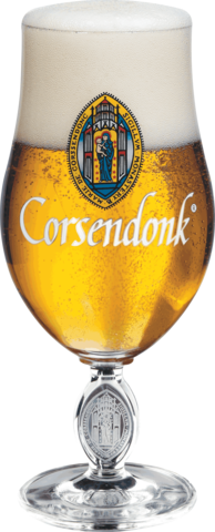 Набор из 6 бокалов для пива Corsendonk тюльпан, 330 мл
