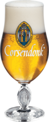 Набор из 6 бокалов для пива Corsendonk тюльпан, 330 мл, фото 1