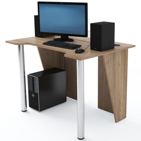 Стол Компьютерный LevelUP 1100 Дуб Сонома