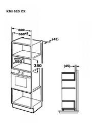 Микроволновая печь Korting KMI 925 CX - схема