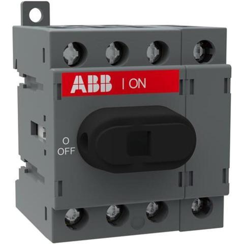Выключатель нагрузки-рубильник до 16 A, 4-полюсный OT16F4N2. ABB. 1SCA104829R1001