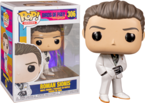 Birds of Prey. Roman Sionis Funko Pop! || Хищные Птицы. Роман Сионис
