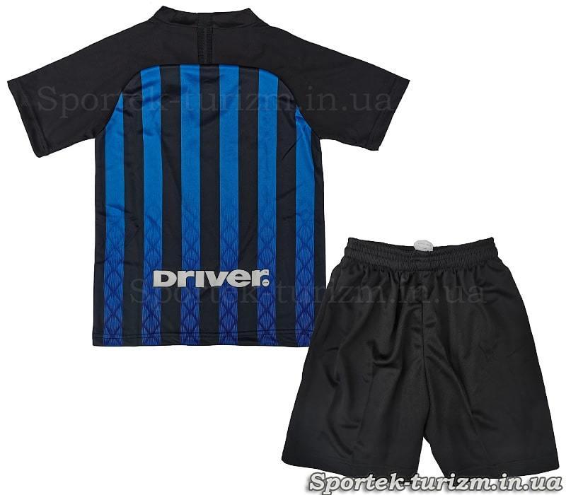 Вид сзади футбольной формы Миланского Интера