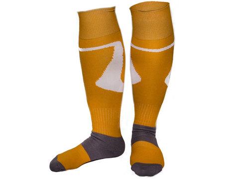 Гетры футбольные профессиональны. Цвет: жёлтый. р.40-44 SG-7 16632