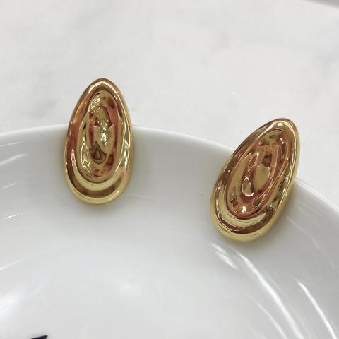 Серьги-кластеры в виде капель ш925 (золотистый)