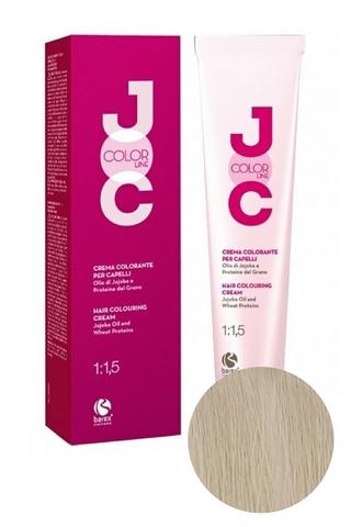 Крем-краска для волос 911 суперосветляющий блондин серебристый JOC COLOR, Barex