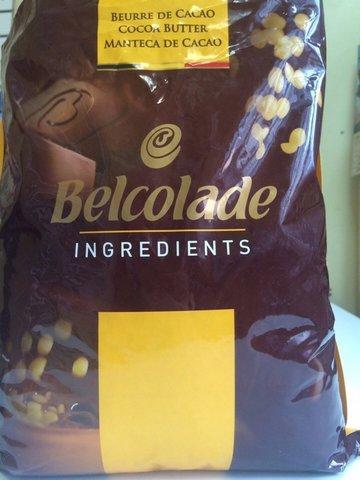 Какао-масло Белколад / Belcolade