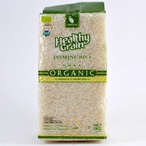 Органический тайский белый рис жасмин SAWAT-D, 1кг
