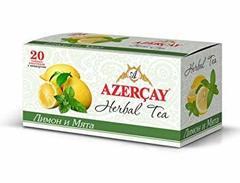 Çay Azərçay Herbal Limon və Nanə