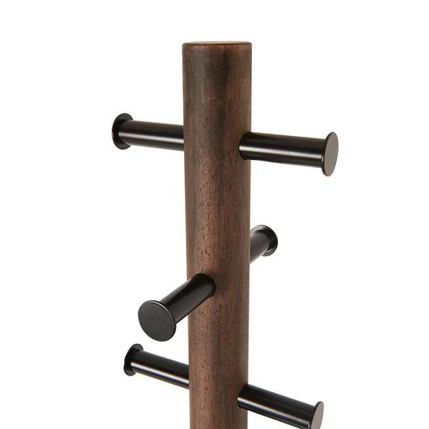 Вешалка напольная Pillar чёрная