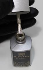 Серебристый золотой гель-лак для дизайна ногтей PLATINUM