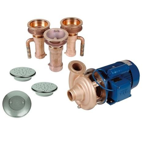 Гидромассаж Fitstar Combi-Whirl 8610020 (220/380 В, 2,6 Квт) компл: насос, 2 форсунки, водозабор / 3116