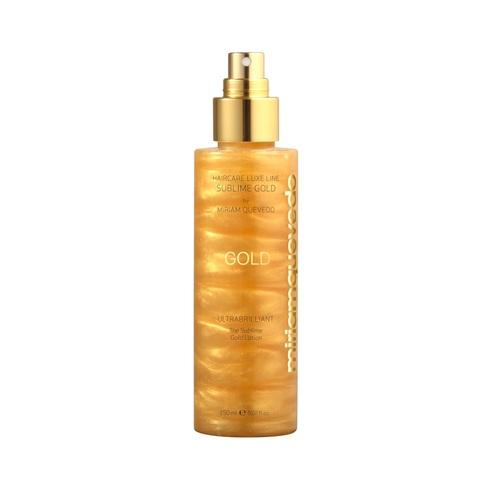MIRIAM QUEVEDO | Золотой спрей-лосьон для ультра блеска волос / Ultrabrilliant The Sublime Gold Lotion, (150 мл)