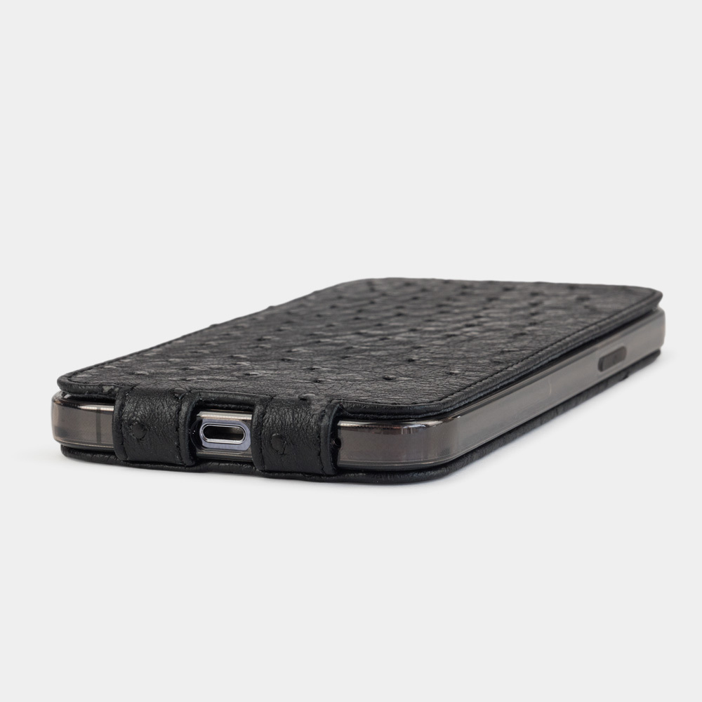 Case for iPhone 12 Pro Max - ostrich black