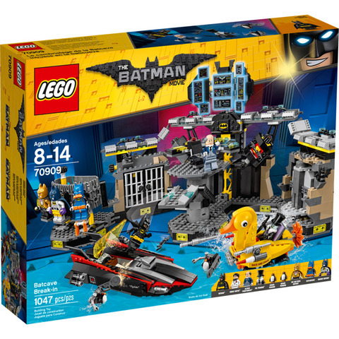 LEGO Batman Movie: Нападение на Бэтпещеру 70909 — Batcave Break-in — Лего Бэтмен Муви Кино