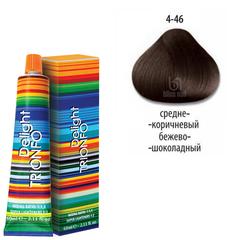 Constant Delight, Крем-краска DELIGHT TRIONFO 4.46 для окрашивания волос, 60 мл