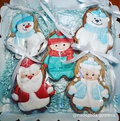 Новогодние персонажи / Снегурочка