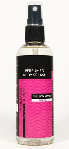 Парфюмированный спрей с феромонами Million Kisses - 100 мл.