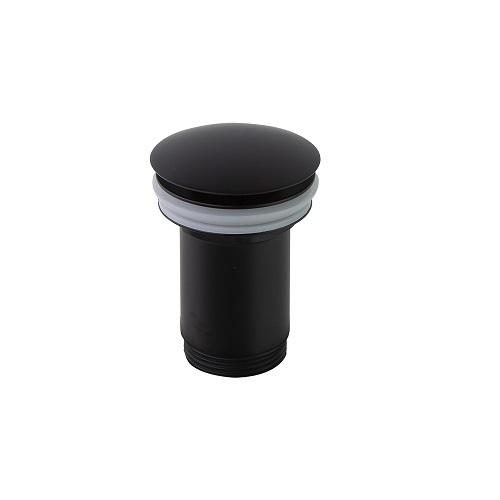 Клапан сливной QUICK CLAC 1219LNM черный