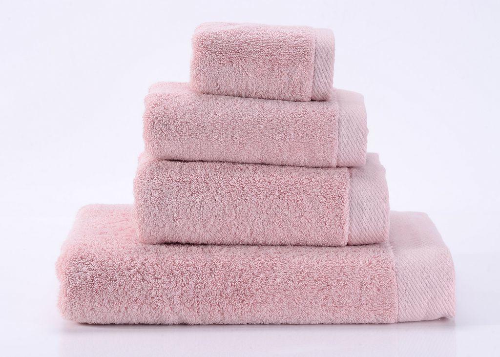 Полотенца Seashells-4 светло-розовое махровое  полотенце Valtery seashells-4-p.jpg