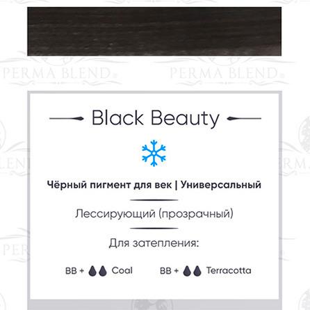 """Black Beauty"" пигмент для глаз Permablend"