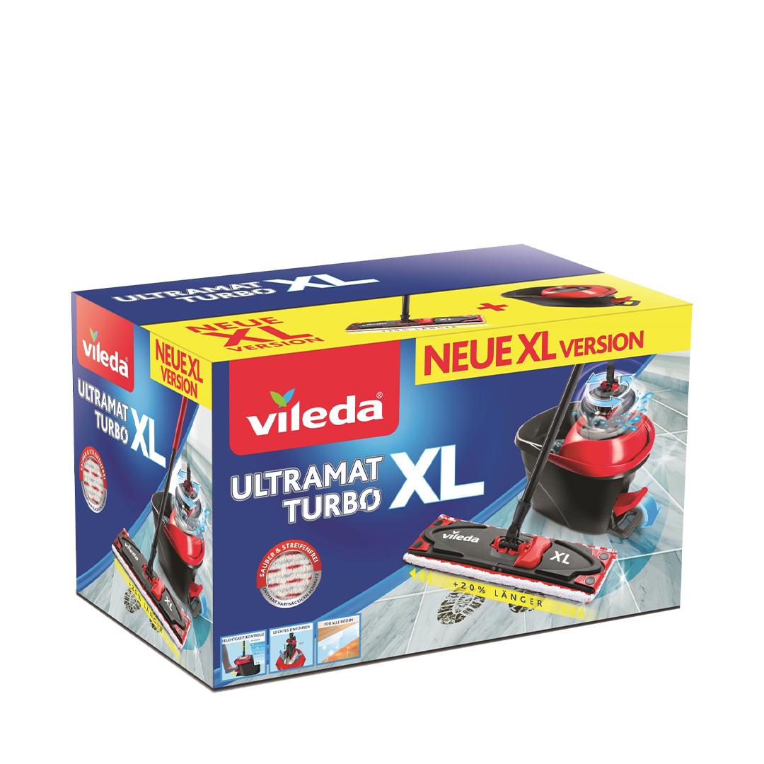 Набор для уборки  VILEDA ULTRAMAT TURBO XL с педальным отжимом