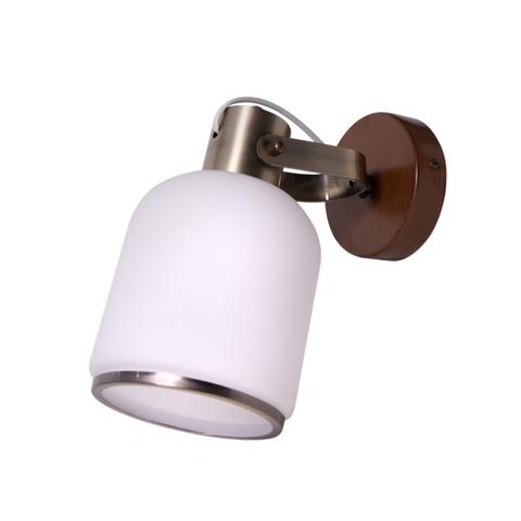 INL-9406W-01 Antique brass & Walnut